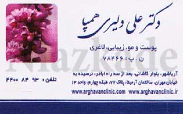 دکتر علی دلیری همپا