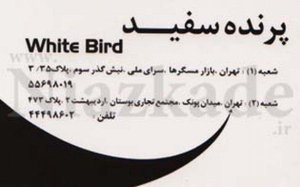 پرنده سفید